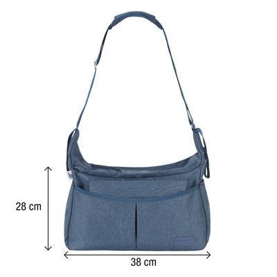Přebalovací taška BABYMOOV Urban Bag 2021, melanged blue - 3