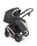 Kočárek CAMARELO Abiro 2020 včetně autosedačky, 09 černo-tmavě šedá + béžová - 3/5
