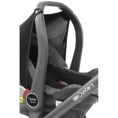 Autosedačka BABYSTYLE Capsule Infant i-Size 2021, berry - 3