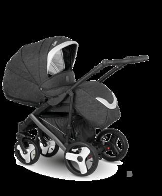 Kočárek CAMARELO Baleo 2020 včetně Aton 5, 11 tmavě šedo-stříbrná - 3