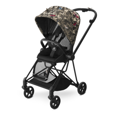 Kočárek CYBEX Set Mios Black Fashion Butterfly 2018 - 3