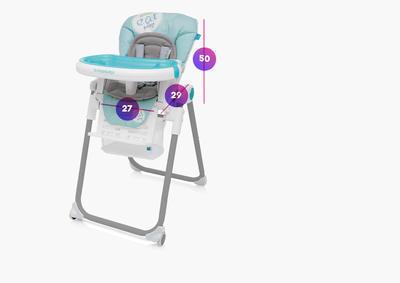 Jídelní židlička BABY DESIGN Lolly 2017 - 3
