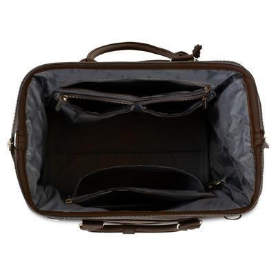 Taška na pleny ABC DESIGN Style 2021, dark brown - 3