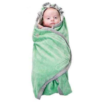 Zavinovačka LODGER Wrapper Cotton Newborn 2017, anise - 3