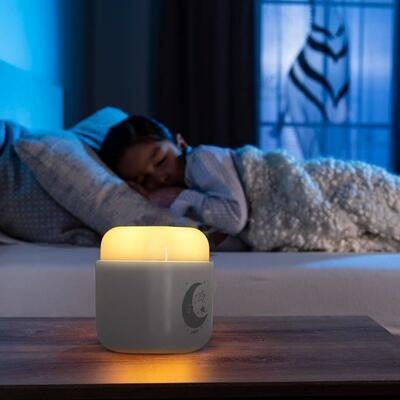 Noční světlo REER SleepLight 2v1 2021, šedé - 4