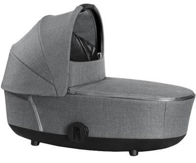 Kočárek CYBEX Mios Rosegold Seat Pack PLUS 2021 včetně korby, manhattan grey - 4