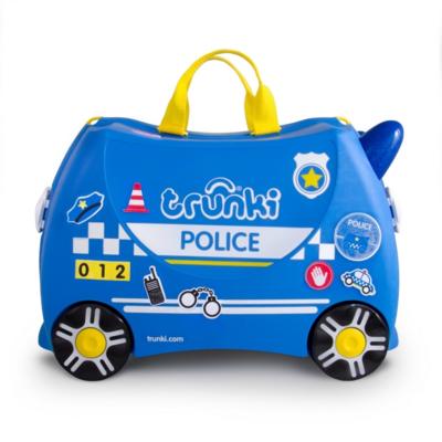 Kufřík + odrážedlo  TRUNKI 2020, policejní auto Percy - 4
