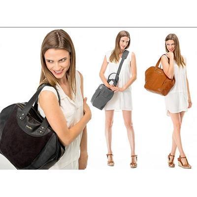Přebalovací taška BABYMOOV City Bag 2021, zinc - 4