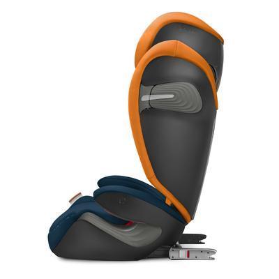 Autosedačka CYBEX Solution S-FixGold Line 2019, indigo blue - 4