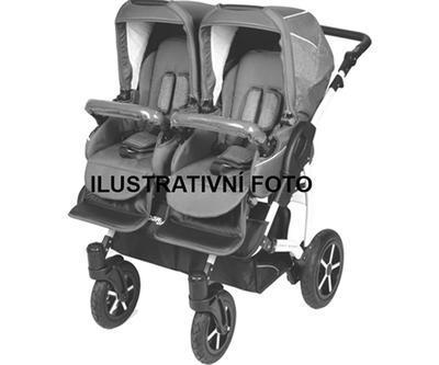 Kočárek DORJAN Twin Prim 2021 včetně autosedaček - 4