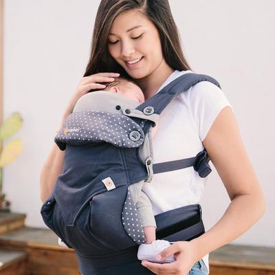 Vložka pro novorozence Easy snug ERGOBABY  2021, Original Grey - 4