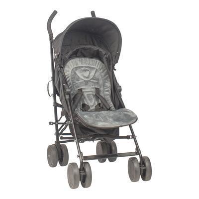 Univerzální vložka BO JUNGLE B-Stroller 2021, grey/black - 4
