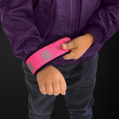 Reflexní páska REER s LED světlem 2021, růžová - 4