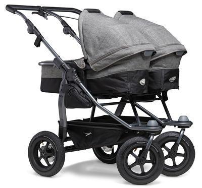 Kočárek TFK Duo Stroller Air Wheel Premium 2021 včetně Duo Combi Premium a 2 autosedaček - 4