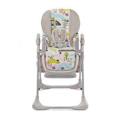 Jídelní židlička KINDERKRAFT Tastee 2021, pink leaf - 4