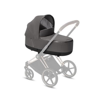 Kočárek CYBEX Set Priam Chrome Black Seat Pack 2019 včetně Cloud Z i-Size, manhattan grey - 4
