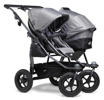 Sportovní sedačka TFK Stroller Seats Duo 2021, grey - 4