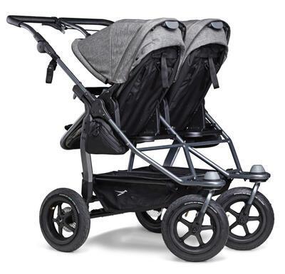 Sportovní sedačka TFK Stroller Seats Duo 2021, premium grey - 4