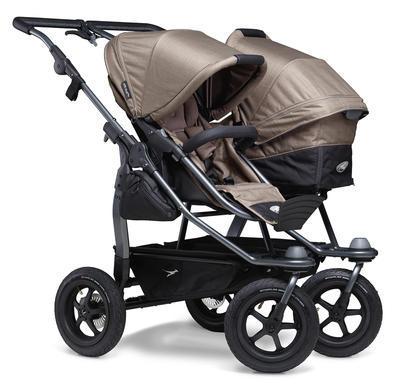 Kočárek TFK Duo Stroller Air Wheel 2021 včetně Duo Combi a 2 autosedaček - 4