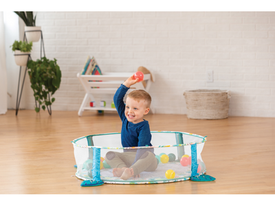 Hrací deka s hrazdou a ohrádkou INFANTINO 3v1 Jumbo 2020 - 4