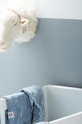 Deka LODGER Dreamer Muslim Stripe Xandu 120x120 cm 2020, ocean - 4
