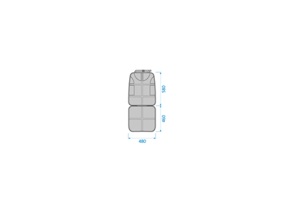 Ochrana zadního sedadla v autě MAXI-COSI 2021 - 4