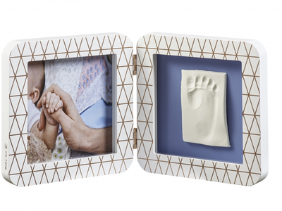 Rámeček BABY ART My Baby Touch Simple 2021, copper edition white - 4