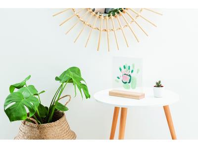 Dřevěný stojánek BABY ART Family Prints Wooden 2021 - 4