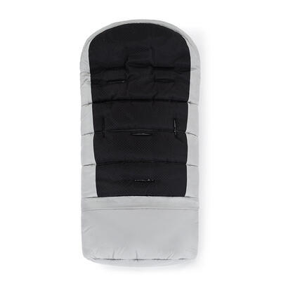 PETITE&MARS Zimní set fusak Jibot 3v1 + rukavice na kočárek Jasie 2021, steel grey - 4