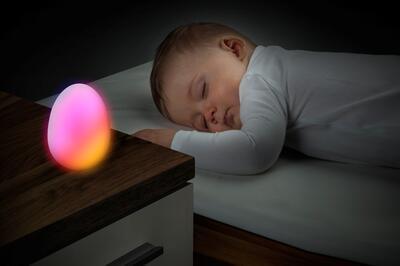 LED noční světlo REER Vajíčko měnící barvy 2021 - 4