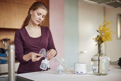 Odsávačka mateřského mléka AVENT Natural elektronická DUO 2020 - 4