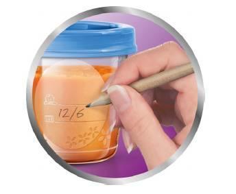 VIA pohárky AVENT s víčkem (180ml) 2020 - 4