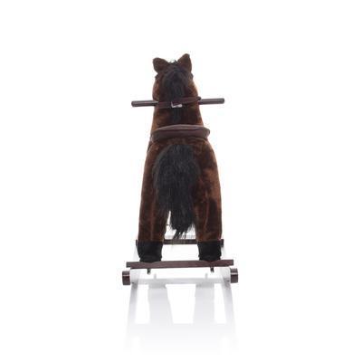 ZOPA Houpací kůň tmavě hnědý Twinkie 2021 - 4