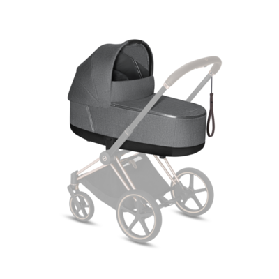 Kočárek CYBEX Set Priam Matt Black Seat Pack PLUS 2021 včetně Cloud Z i-Size PLUS, manhattan grey - 4