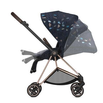 Kočárek CYBEX Mios Seat Pack Fashion Jewels of Nature 2021 včetně korby - 4
