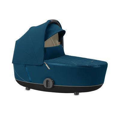 Kočárek CYBEX Mios Matt Black Seat Pack 2021 včetně korby, nautical blue - 4