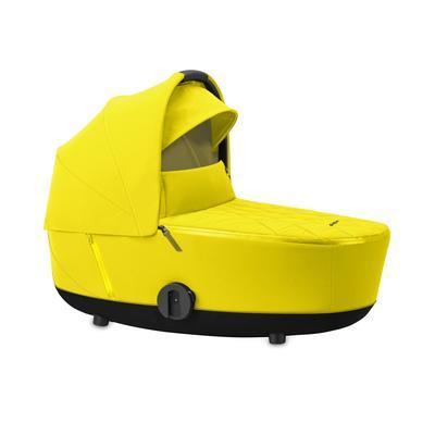 Kočárek CYBEX Mios Rosegold Seat Pack 2021 včetně korby, mustard yellow - 4