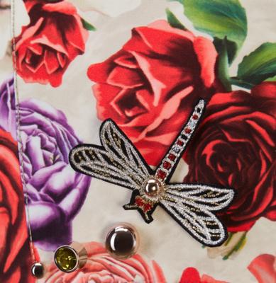 Dětské nosítko CYBEX Yema Tie Fashion Spring Blossom 2021, light - 4