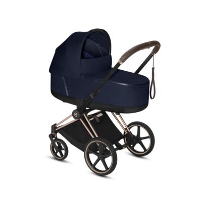 Kočárek CYBEX Set Priam Rosegold Seat Pack PLUS 2021  včetně Cloud Z i-Size PLUS, midnight blue - 4