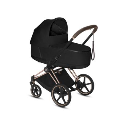 Kočárek CYBEX Set Priam Rosegold Seat Pack PLUS 2021  včetně Cloud Z i-Size PLUS, stardust black - 4