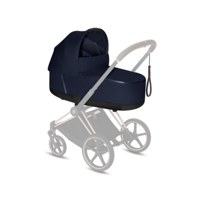 Kočárek CYBEX Set Priam Chrome Brown Seat Pack PLUS 2021 včetně Cloud Z i-Size PLUS - 4