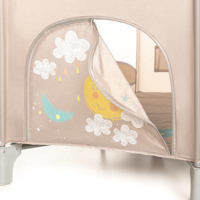 Cestovní postýlka BABY DESIGN Dream 2020, 09 - beige - 4