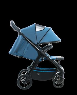 Kočárek MOON Jet-R 2019, blue nylon - 4