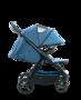 Kočárek MOON Jet-R 2019, blue nylon - 4/7