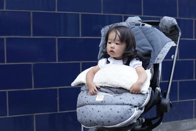 Fusak 7 A.M.ENFANT LambPOD 2018, grey polkadots - 4