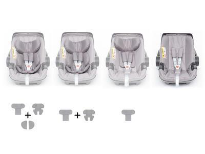 Autosedačka ZOPA X1 Plus i-Size 2021, titan grey - 4