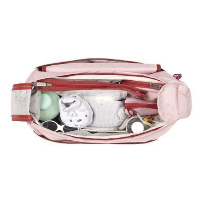 Přebalovací taška BABYMOOV Urban Bag 2021, melanged pink - 4