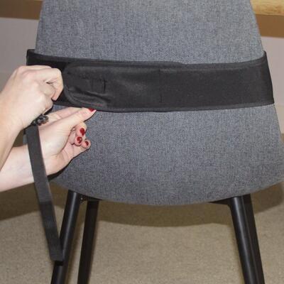 Přenosná textilní židlička DOOKY Travel Chair Black 2020 - 4