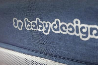 Cestovní postýlka BABY DESIGN Dream 2020, 03 - modrá - 4