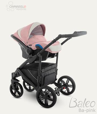 Kočárek CAMARELO Baleo 2020 včetně autosedačky, pink - 4